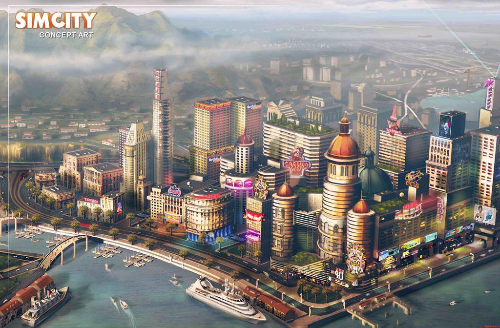 обзор игры SimCity 5