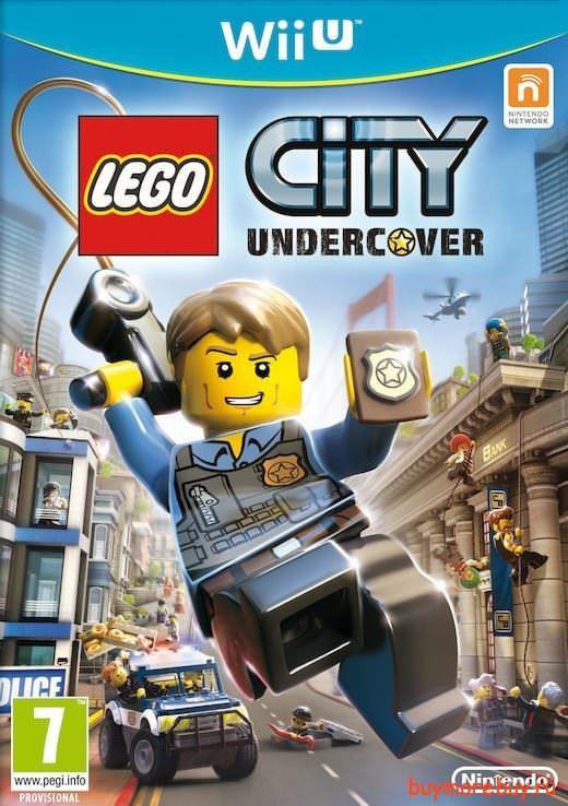 Игра lego city undercover