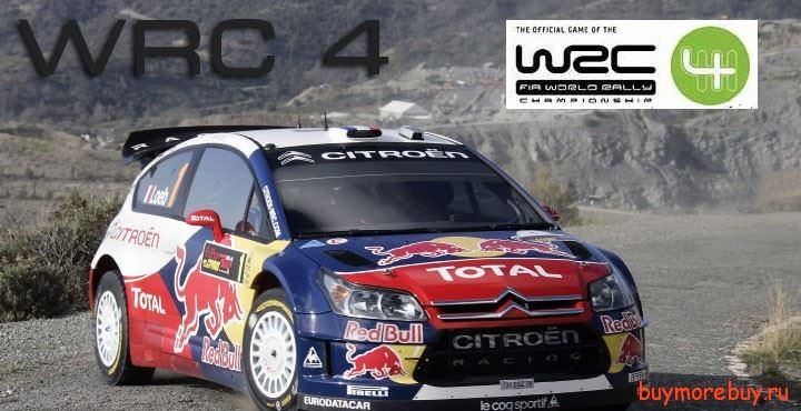 WRC 4 трейлер,геймплей игры