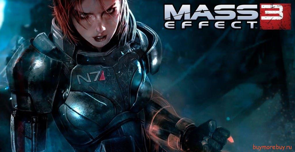 MassEffect3-RedFemShep-Wallpaper