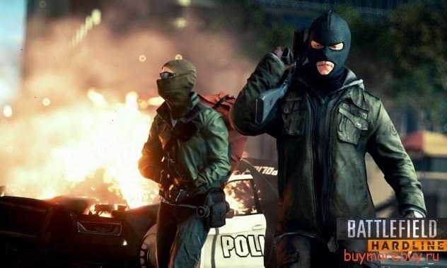 Battlefield: Hardline уже доступен в открытом бэта тестировании.