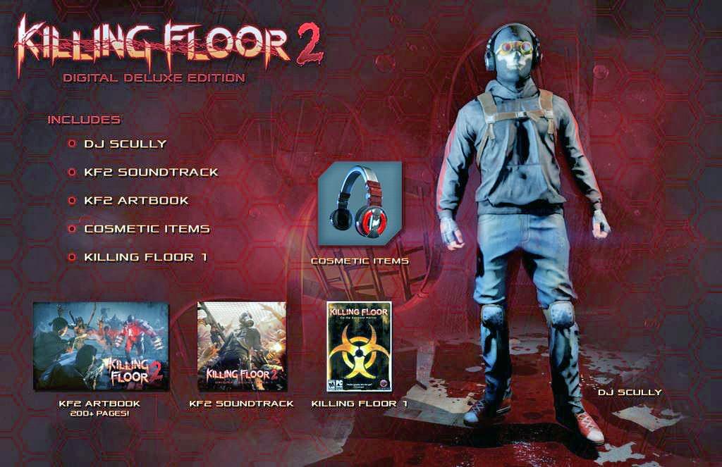 дата выхода Killing Floor 2
