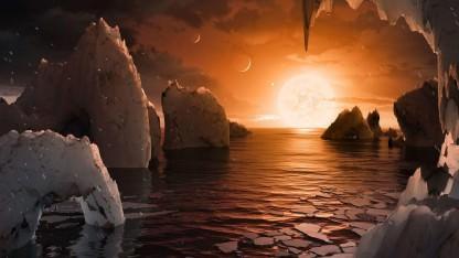 Астрономы обнаружили семь похожих на Землю планет