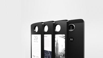 Модуль DigiFrame может превратить Moto Z в YotaPhone
